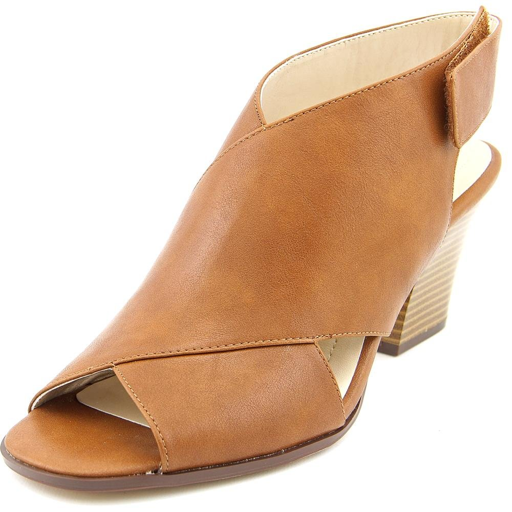Style & Co. Womens Danyell Open Toe Casual Mule Sandals, Saddle, Size 8.0