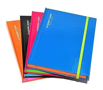 95e0cbeebf7e Tallon 1x 2018 - 2019 A5 Academic Mid Year Page A Day Diary (Chosse Colour