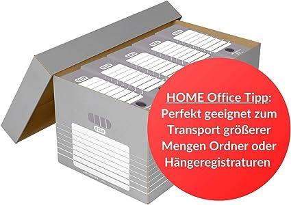 Elba Tric 83427 - Caja para guardar cajones archivadores (cartón ...