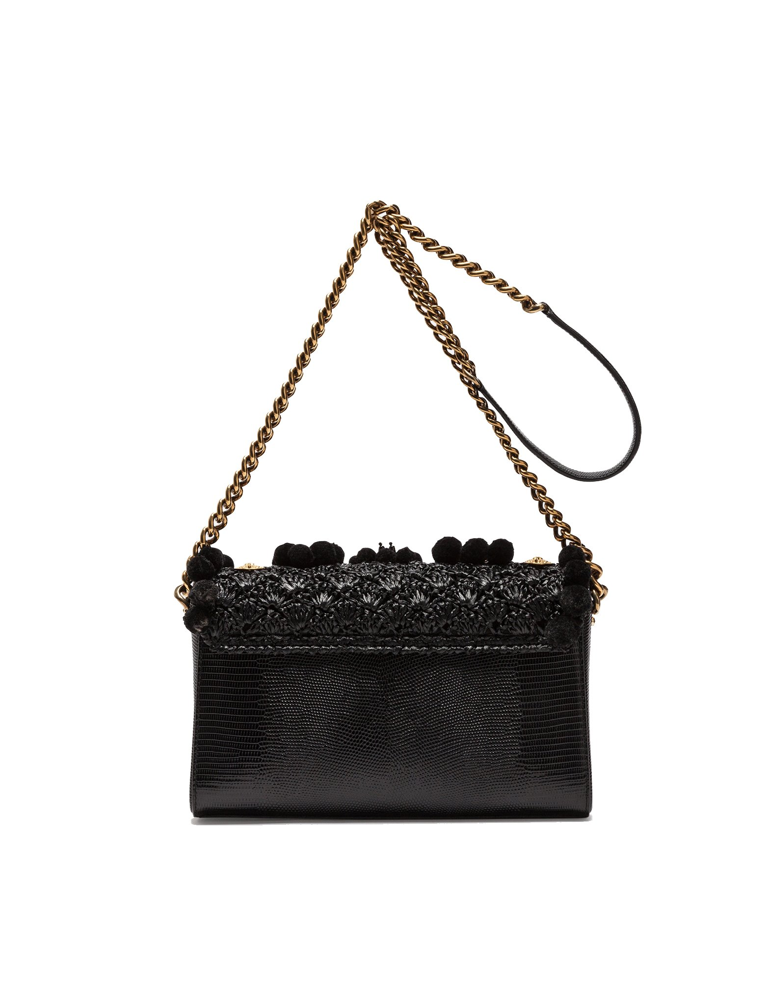 Dolce E Gabbana Women's Bb6393as9038b956 Black Leather Shoulder Bag by Dolce e Gabbana (Image #3)