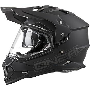 ONeal 0817-504 Sierra II Mens Full-Face Helmet (Black, Large)