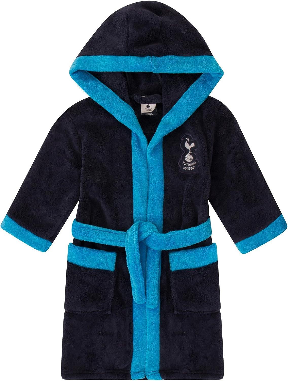 Tottenham Hotspur FC - Batín oficial con capucha - Para niño - Forro polar: Amazon.es: Ropa y accesorios