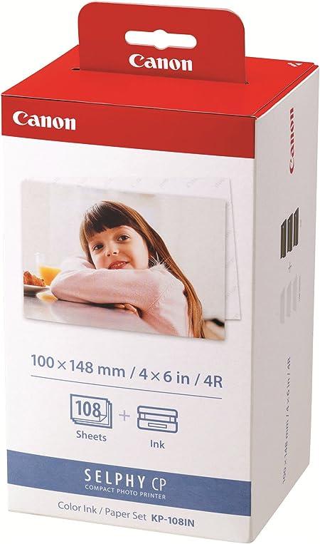 Canon Papier Kp 108in 108 Blatt 10x15 Mit Kamera