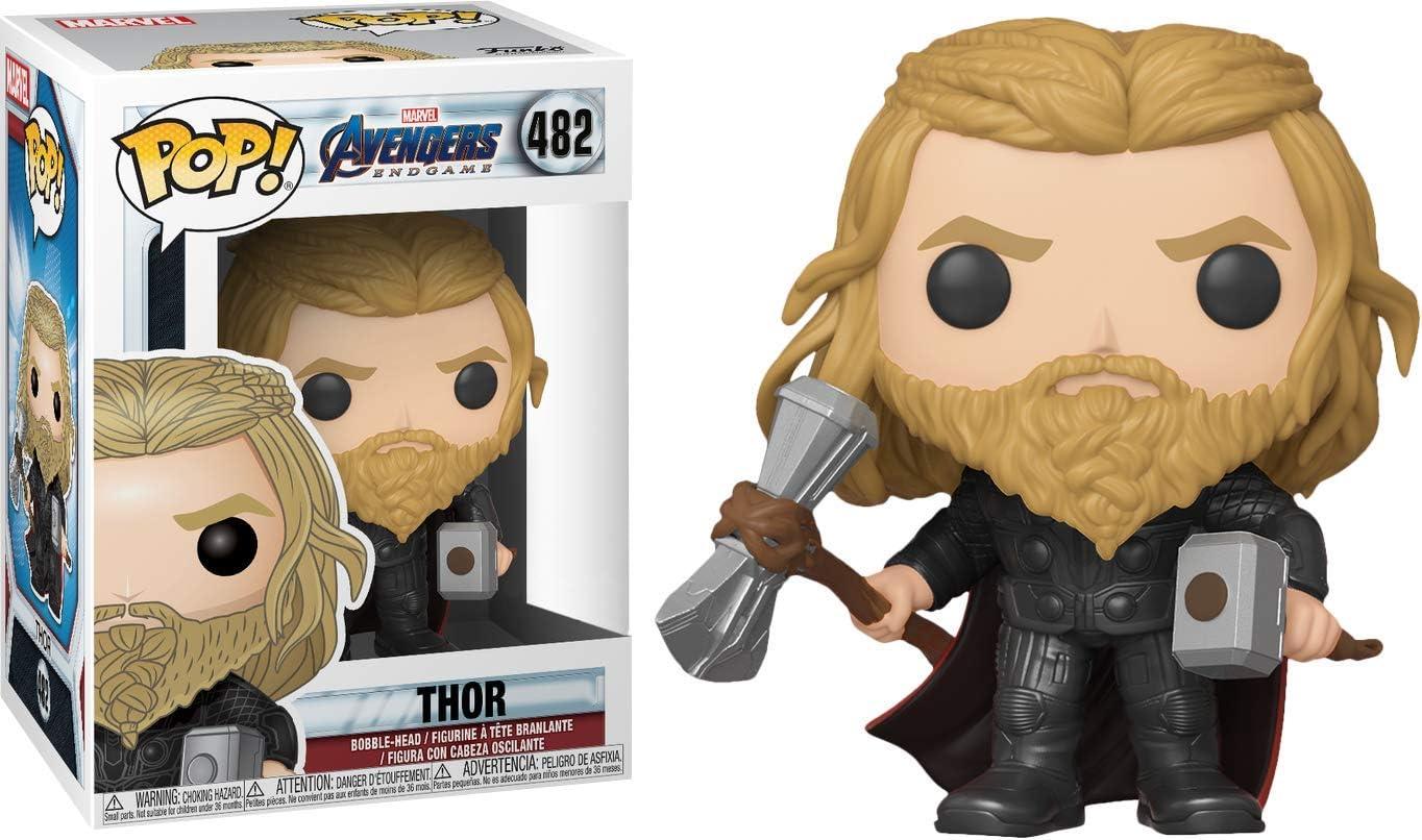 Funko en main Authentique POP Thor Thor Stormbreaker Mjolnir Avengers Endgame