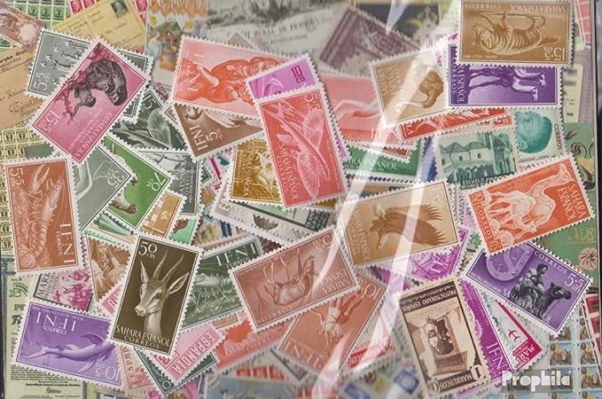 Prophila Collection España 100 Diferentes Sellos españolas Colonias con Estados Independientes (Sellos para los coleccionistas): Amazon.es: Juguetes y juegos