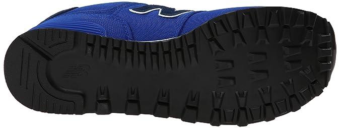 New Balance ML574POB - Zapatillas de Sintético Hombre, Color Azul ...