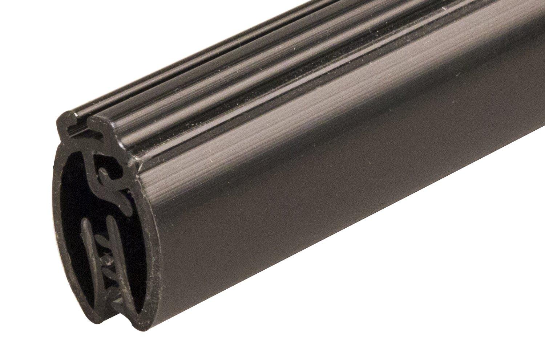 FFR Merchandising 6116252506 Mercury Designer Series Banner Hanger with Track, 24'' Length, Black (Pack of 80)