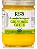 Grassfed 100%  オーガニック有機培養ギー 精製バター 390g  並行輸入品