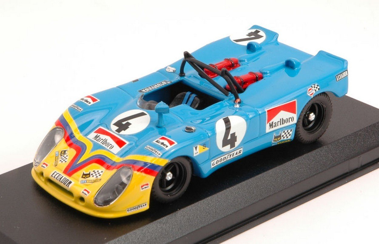 Best Model BT9159 Porsche 908/2 FLUNDER N.4 7th LM 1973 G.Ortega-F.MERELLO 1:43
