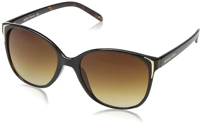 0584af38a1e Image Unavailable. Image not available for. Colour  Michael Kors Sunglasses  - M3645S   Frame  Crystal Tortoise Lens  Brown Gradient