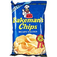 Bakeman's Potato Chips - Natural Flavor, 100 gm