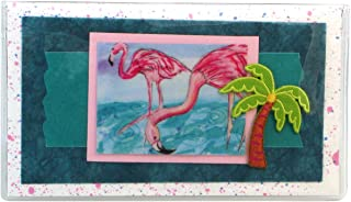 product image for Flamingo Checkbook Cover Made in the USA