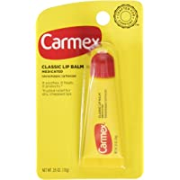 Carmex Classic Lip Balm 0.35 Ounce 3 Count (Pack of 3)
