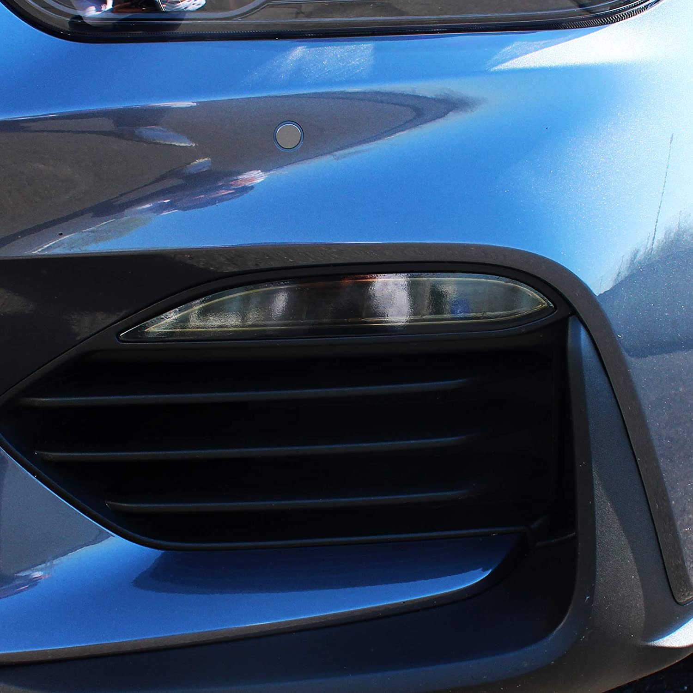 Dark Grey Folien Set Nebelscheinwerfer Tagfahrleuchten T/önungsfolie Aufkleber passgenau zugeschnitten Auto Zubeh/ör C046