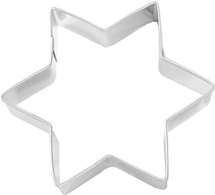 Birkmann Lebkuchen-Ausstechform Stern Ausstecher Plätzchenform Edelstahl 9 cm