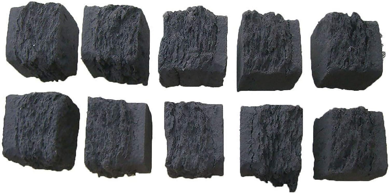 10realista de carbón para barbacoas de gas