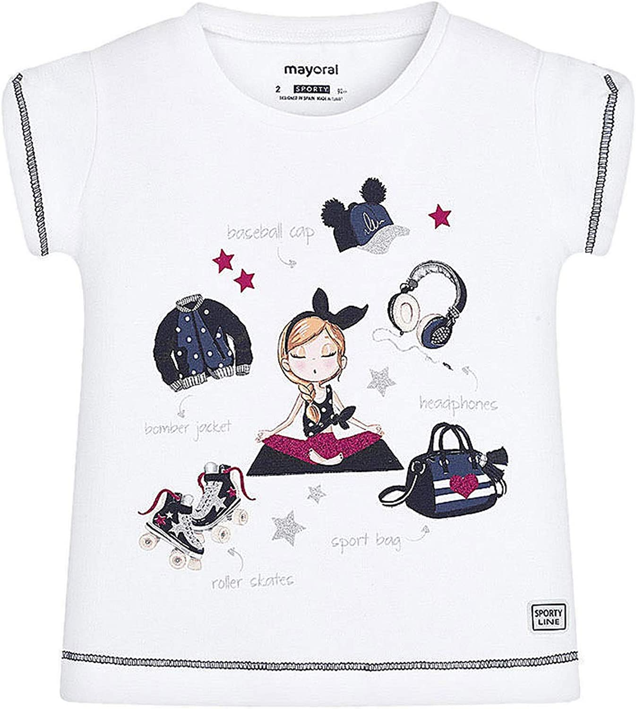Mayoral 20-03016-017 - Camiseta para niña 5 años: Amazon.es: Ropa y accesorios