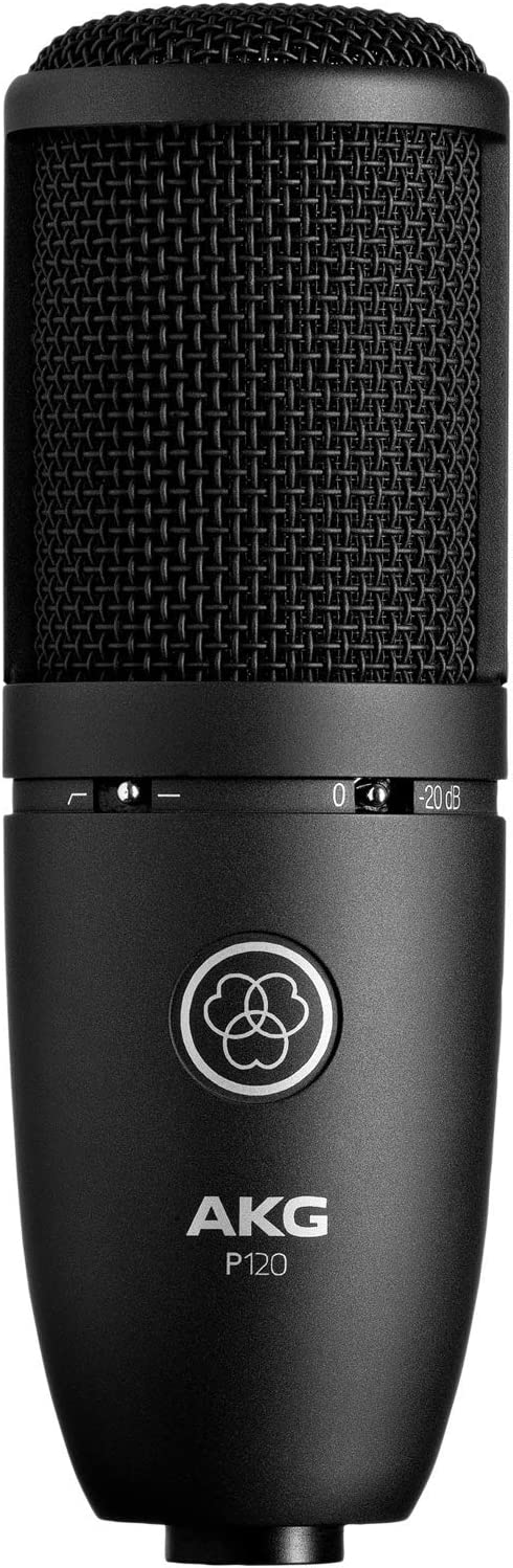 AKG 3101H00400 General Purpose Recording Microphones Condenser at amazon
