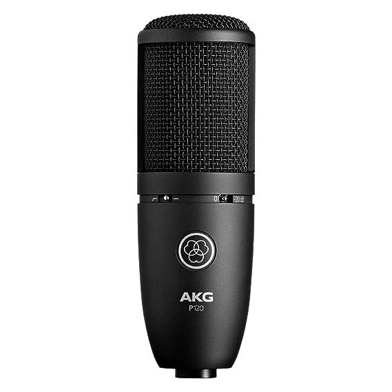 AKG 3101H00400 General Purpose Recording Microphones Condenser at amazon