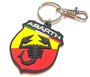 Freeco Fiat Abarth Llavero: Amazon.es: Coche y moto