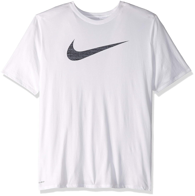 ea564a1eb Amazon.com: NIKE Men's Dri-Fit Swoosh Tee: Clothing