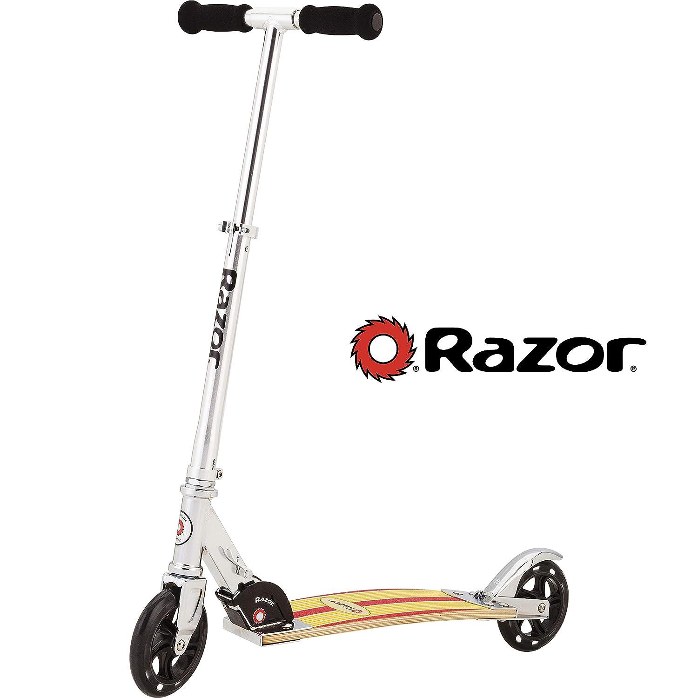 Razor Cruiser - Patinete (Madera Amarilla/Rojo): Amazon.es ...