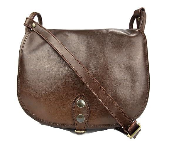 Sacoche femme sacoche marron fonce de cuir sac femme sacoche besace  bandoulière sac à bandoulière traverser 2952a5fc8a2e
