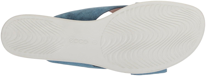 ECCO Women's Touch Plateau Platform Slide Sandal B074CW1Z38 35 M EU (4-4.5 US)|Indigo