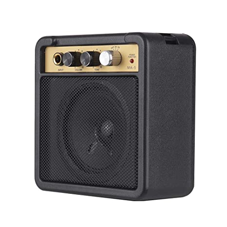 Festnight Mini Amplificador de Guitarra Amplificador de Altavoz 5W ...