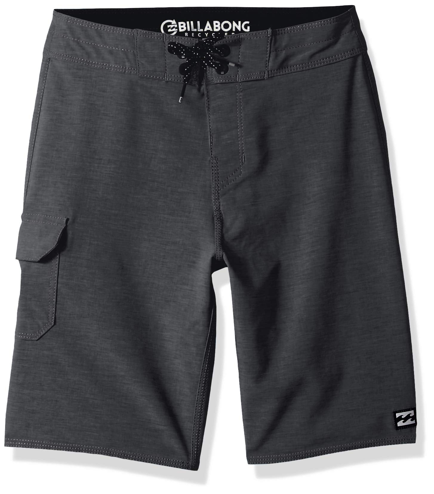 Billabong Boys' All Day Pro Boardshorts Charcoal Heather 28