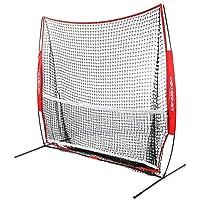 PowerNet 2,1 x 2,1 m Portable Neto de Tenis y Pickleball Entrenador (Multi Deporte)