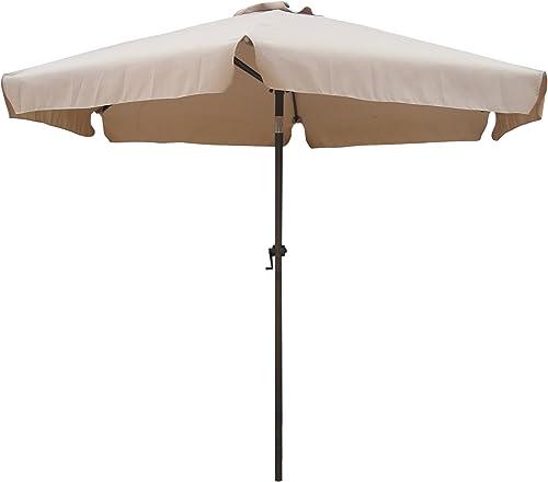 International Caravan 60403 KH-IC Furniture Piece Outdoor 8 Foot Aluminum Umbrella
