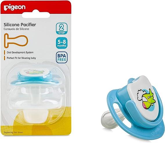 لهاية بيجون من السيليكون للأطفال بشكل طائرة، من عمر 5-8 أشهر – متعددة الألوان