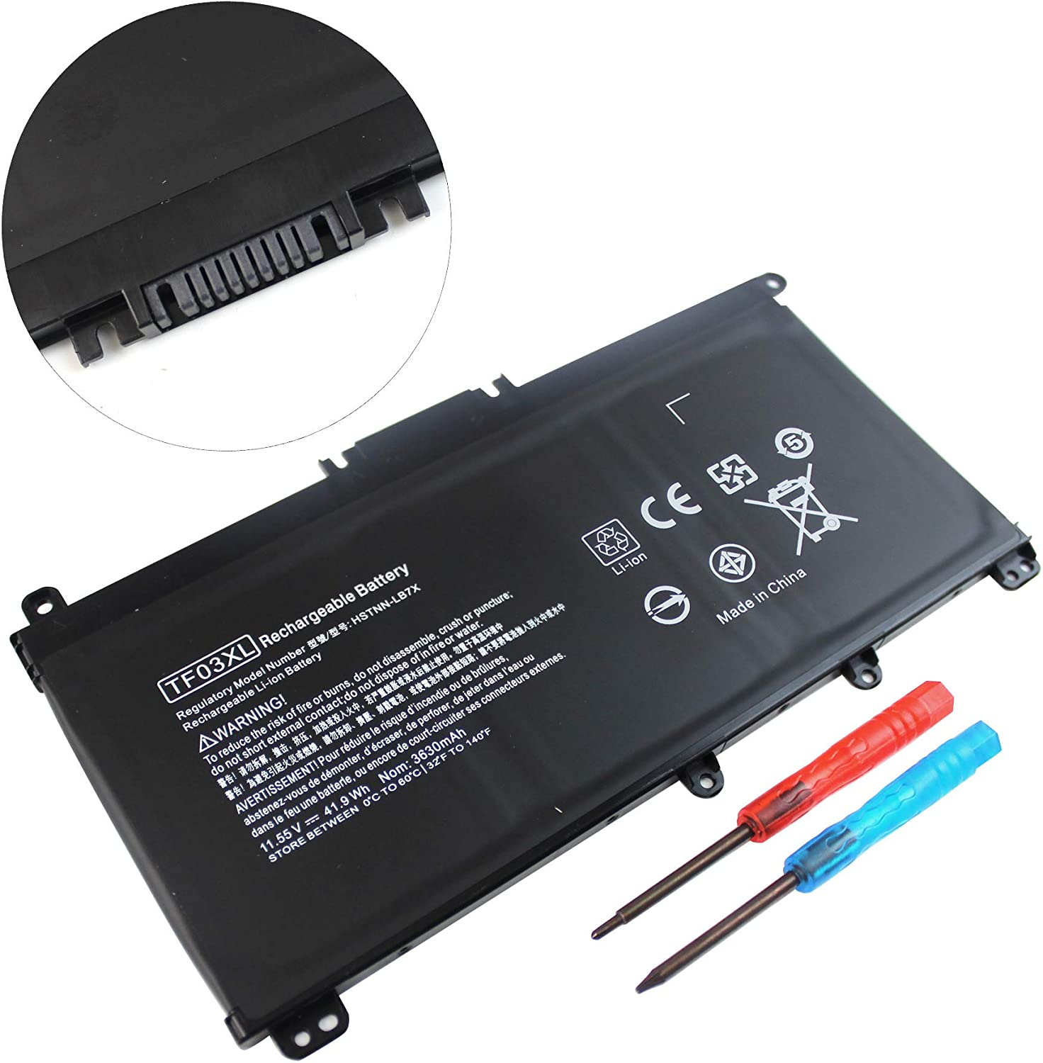 Vinpera TF03XL Battery for HP Pavilion 15-CC 15-CD Series 15-cc055od 15-cd040wm 15-cc152od 15-cc060wm 17-ar050wm; 920046-421 920070-855 HSTNN-LB7J HSTNN-LB7L