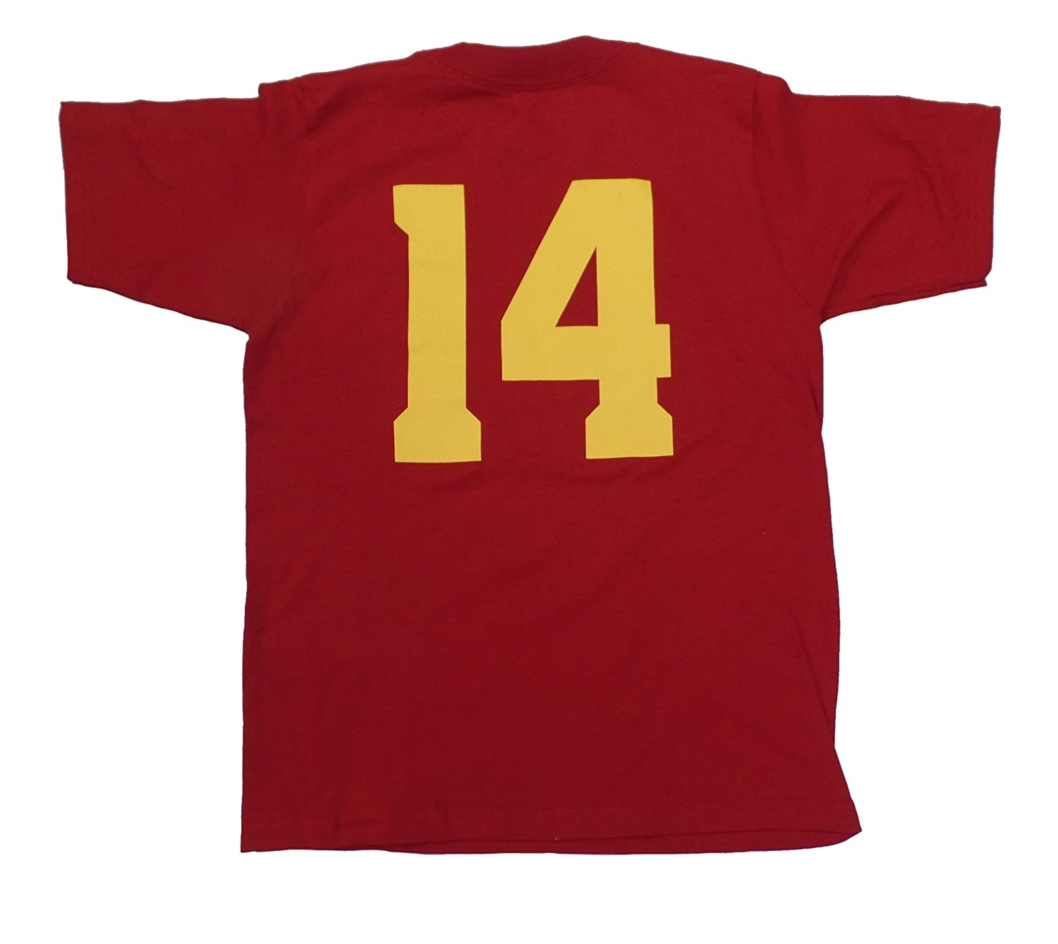 bef5ad3aefa9 Amazon.com   Sam Darnold USC Trojans Men s Red Jersey Name and Number  T-shirt Small   Sports   Outdoors