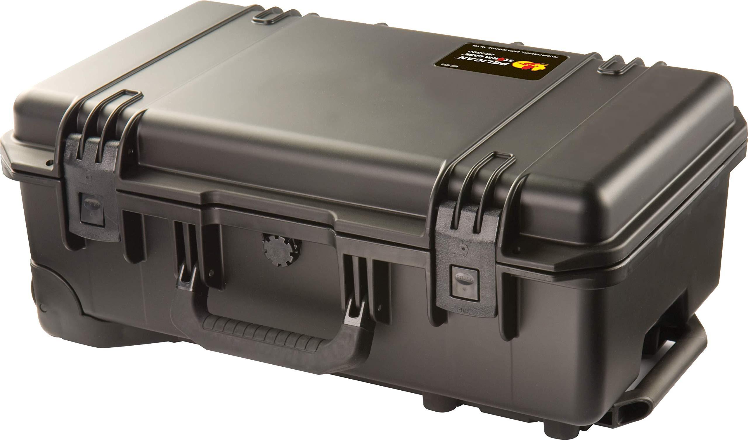 Waterproof Case (Dry Box) | Pelican Storm iM2500 Case With Foam (Black)