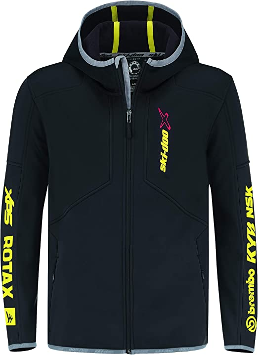 2020 SKI DOO SNO X FLEECE 4541740490 MENS SMALL S BLACK at