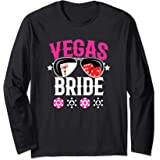Vegas Wedding Bride - Married in Vegas - Bride Squad Long Sleeve T-Shirt