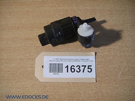 Bomba limpiaparabrisas Vectra C Signum Agila Astra G/H, Zafira A/B,