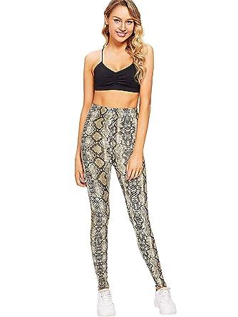 Hombre Mallas para mujer pantalones de piel de leopardo