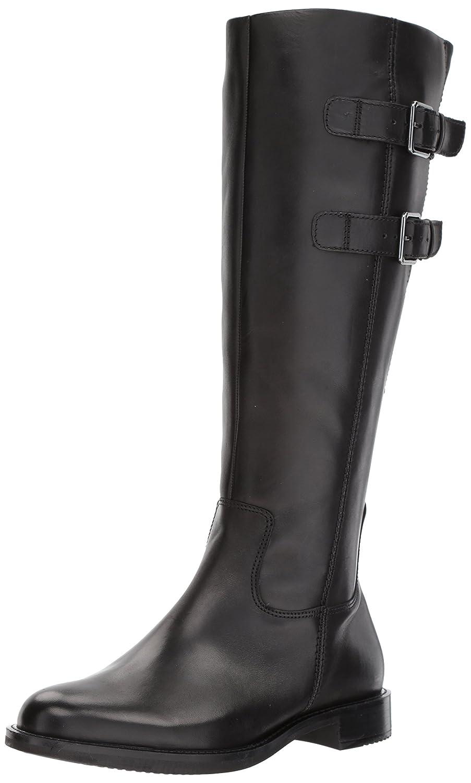 ECCO Women's Shape 25 Tall Buckle Riding Boot B072HG2NR5 39 EU/8-8.5 M US|Black