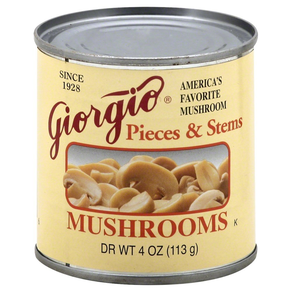 Giorgio Mushroom Pieces & Stems 8.0 OZ(Pack of 12)
