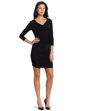 Amazon.com: Nine West Dresses Women&39s Solid Jersey Blouson Top ...