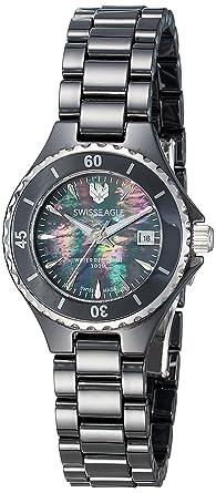 Swiss Eagle Analog Multi-Colour Dial Women's Watch-SE-6066-11