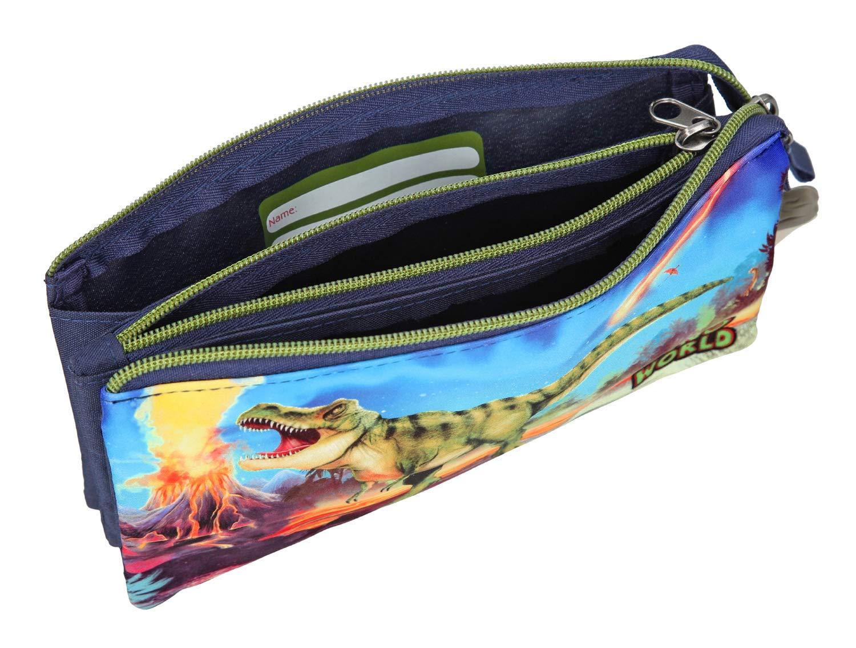 Astuccio Dino World Depesche 10449 Multicolore