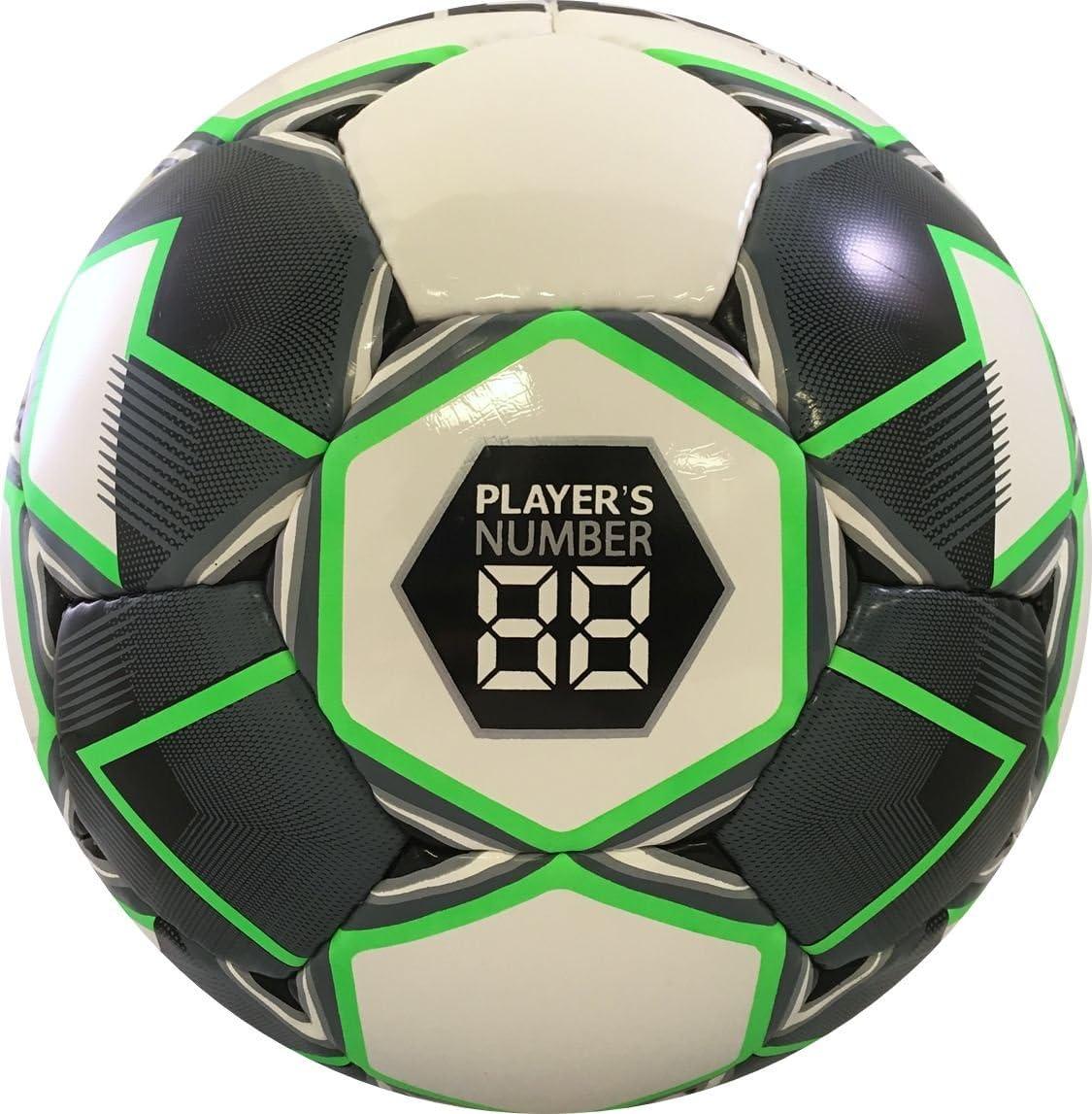 Size 4 White//Black//Green Select Sport Select Thor Soccer Ball