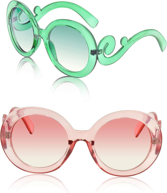 Round Sunglasses Big...