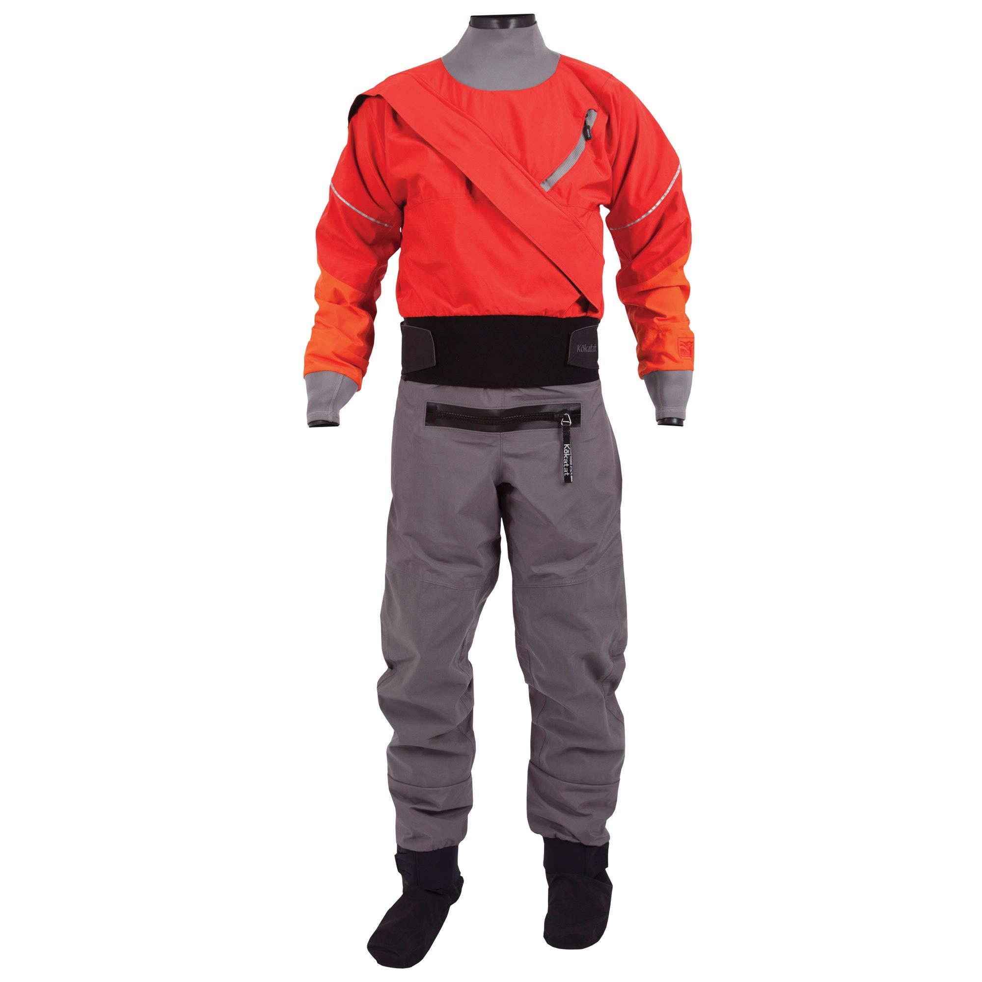 Kokatat Men's Gore-Tex Meridian Drysuit-Red-M by Kokatat