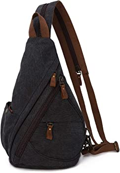 KL928 Casual Small Canvas Backpack