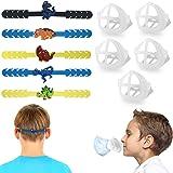 WallDecalsAndArt Mask Extender Strap Mask Bracket for Kids,Reusable Cute Mask Ear Strap Hook,Mask Inner Support Frame…